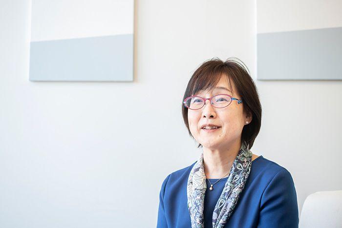 KDDIサステナビリティ推進室の海崎千恵子