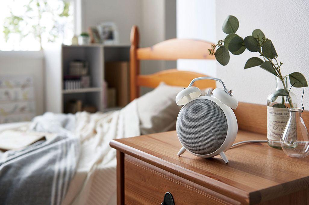 Google Home Mini用クロックスタンド AIS-GHMCLシリーズ