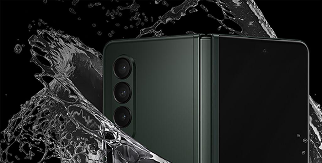 Galaxy Z Fold3 5Gは防水仕様に