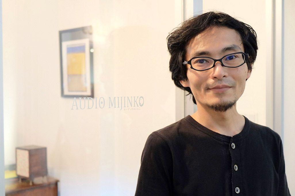 「オーディオみじんこ」代表の荒川敬さん