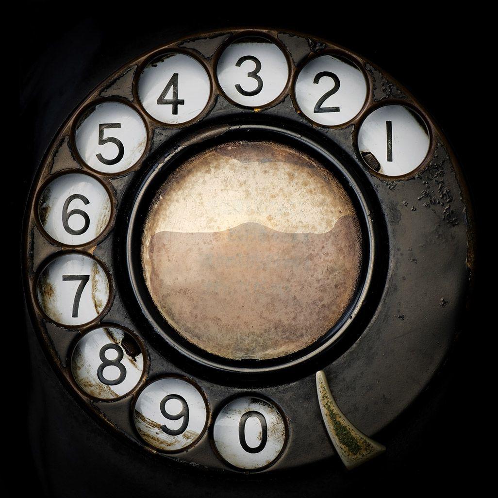 ダイヤル式電話機