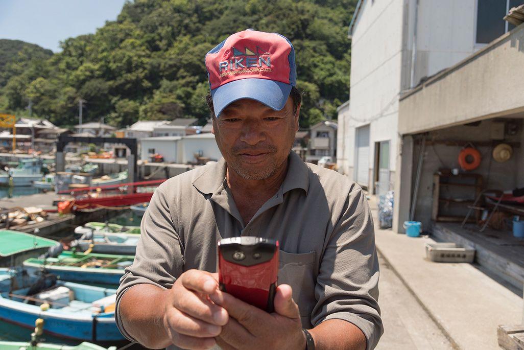 嘉島のハマチ漁師・小内雅雄さん