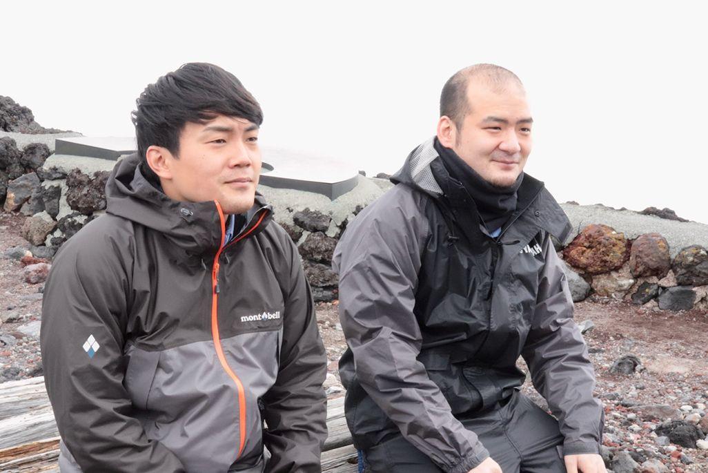 KDDIエンジニアリング中部支社の小淵敦喜と若松洋介
