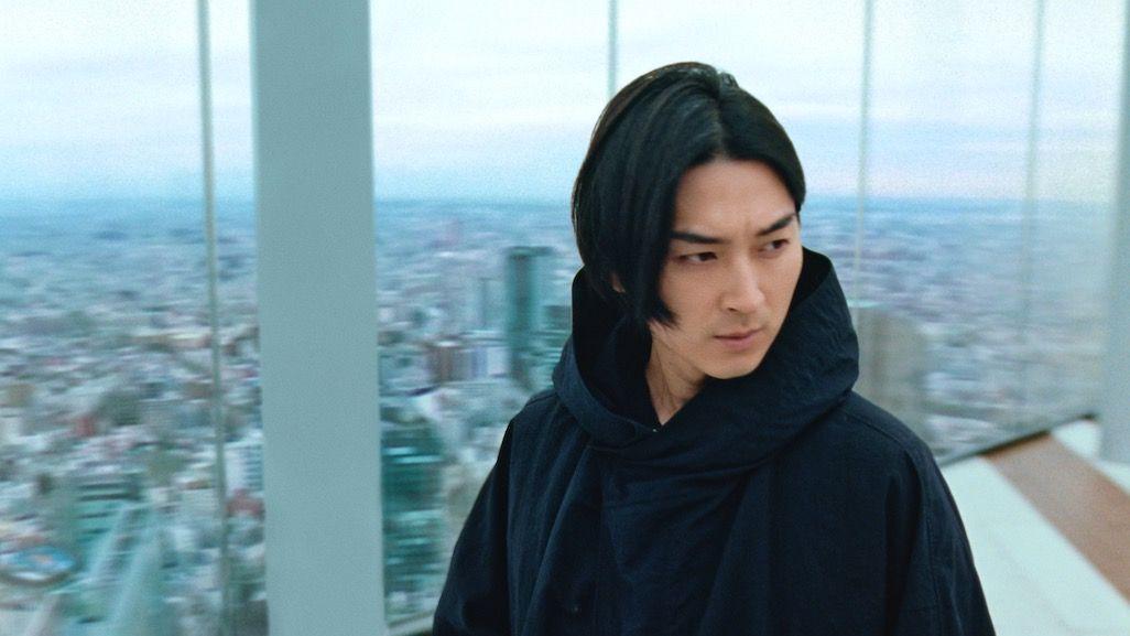 2021年お正月CMで渋谷に佇む桃太郎
