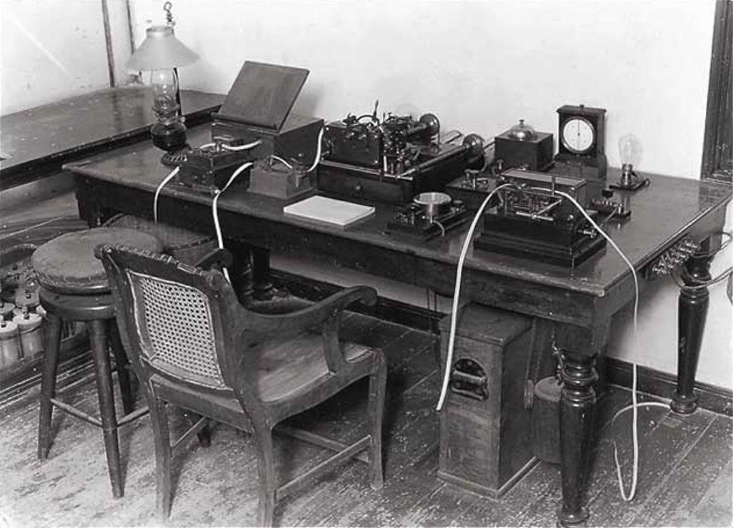 ケーブルハット内の通信施設