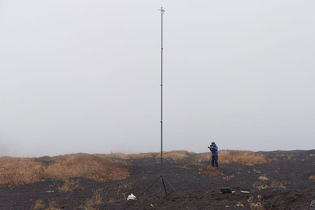ウェザーニューズの気象観測センサー