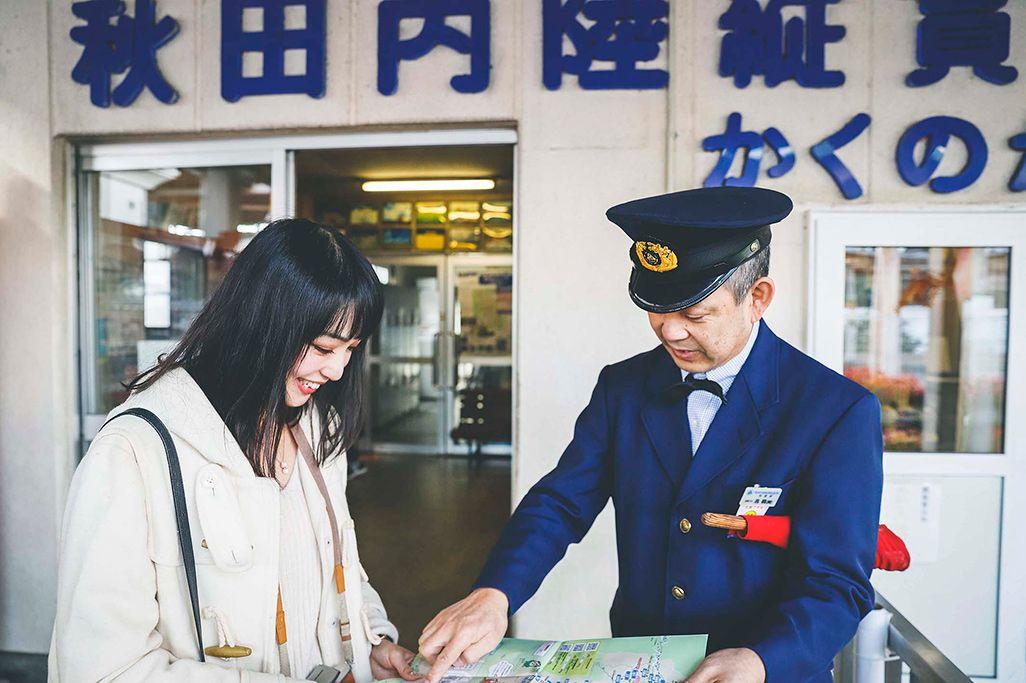 秋田内陸縦貫鉄道の角館駅
