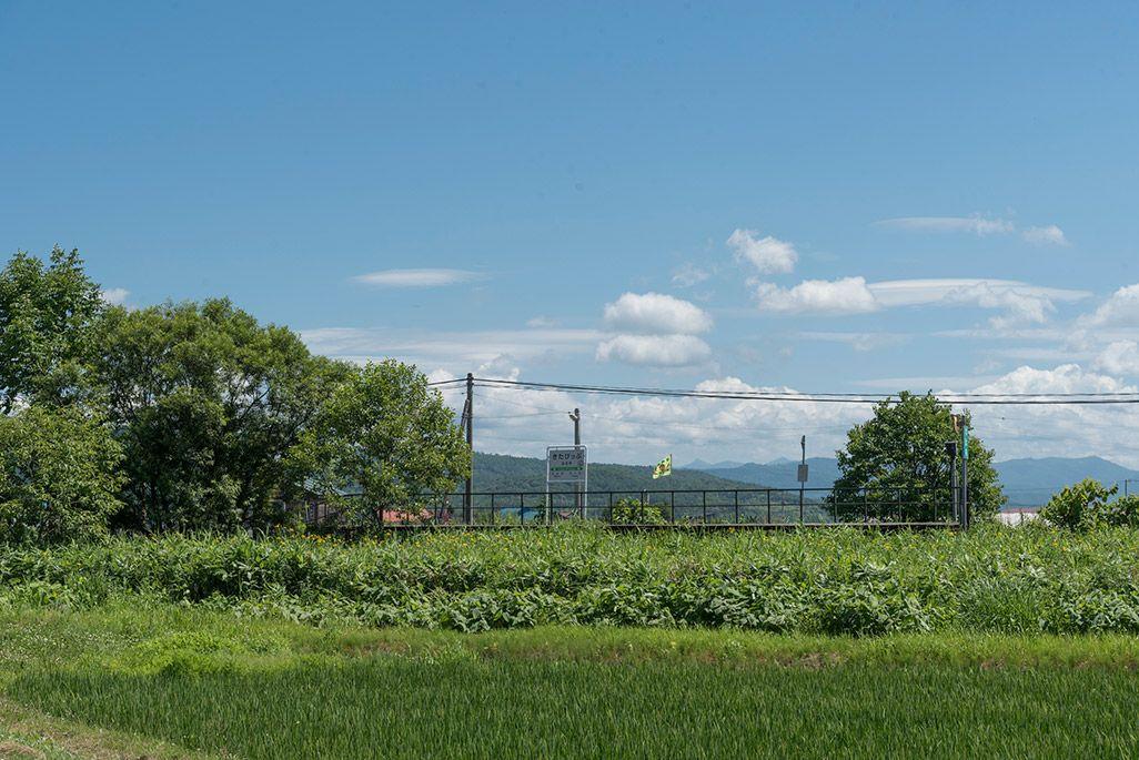 北海道 宗谷本線 北比布駅周辺