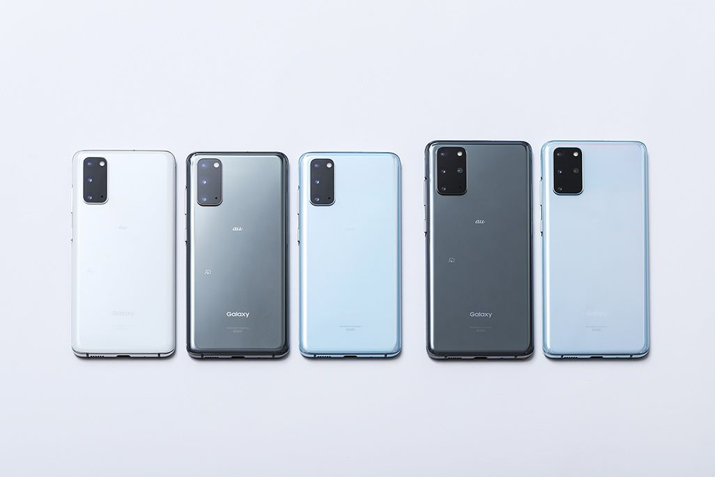 Galaxy S20+ 5GとGalaxy S20 5G