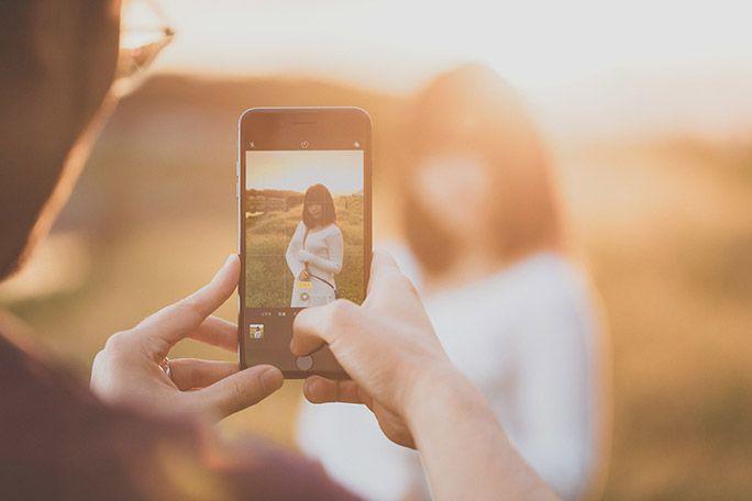 iPhone 8のカメラで撮影