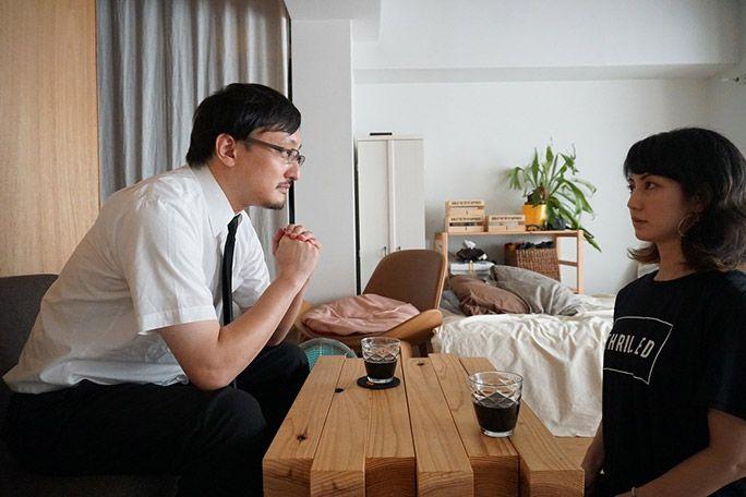 小林有希と吉田悠軌さん