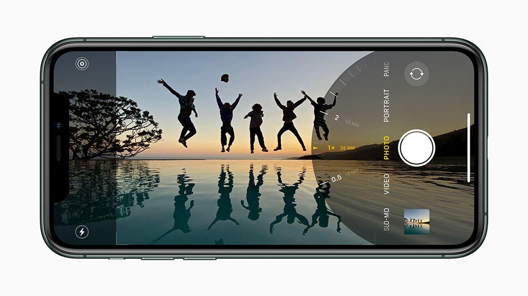 iPhone 11シリーズの超広角カメラで撮影