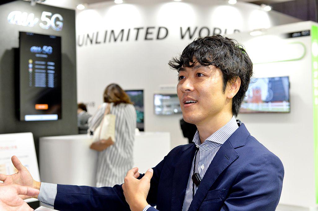 KDDI次世代ネットワーク開発部 宮内勇介
