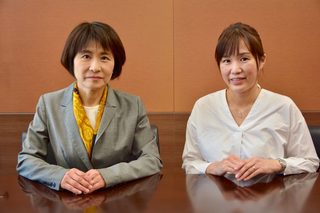 KDDI財団 助成事業部 吉田真奈美、同 助成・企画管理部 榊香緒里