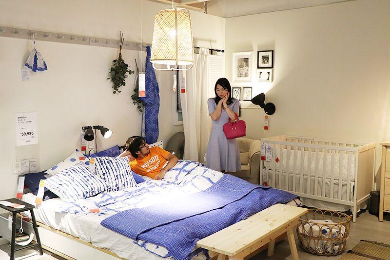 IKEA新三郷の鶴あいかと地主恵亮
