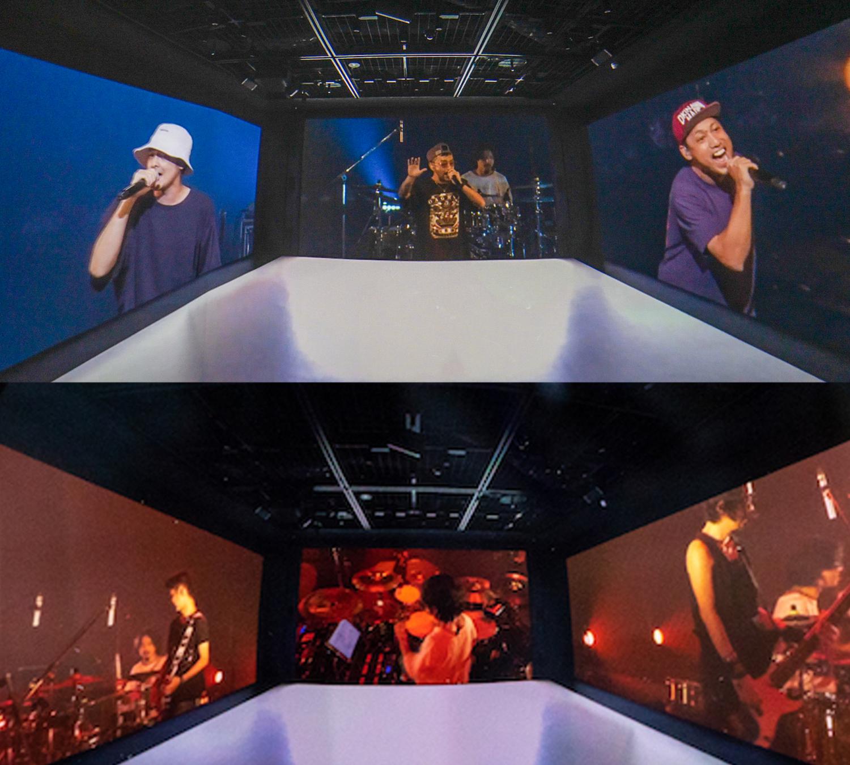 KDDI直営ショップ「GINZA 456」における「音のVR」によるORANGE RANGE 20周年ライブのリアルタイム配信