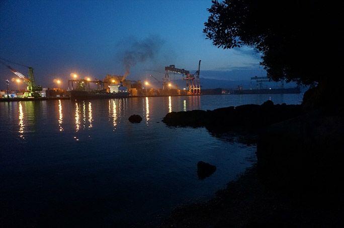 無人島の夜