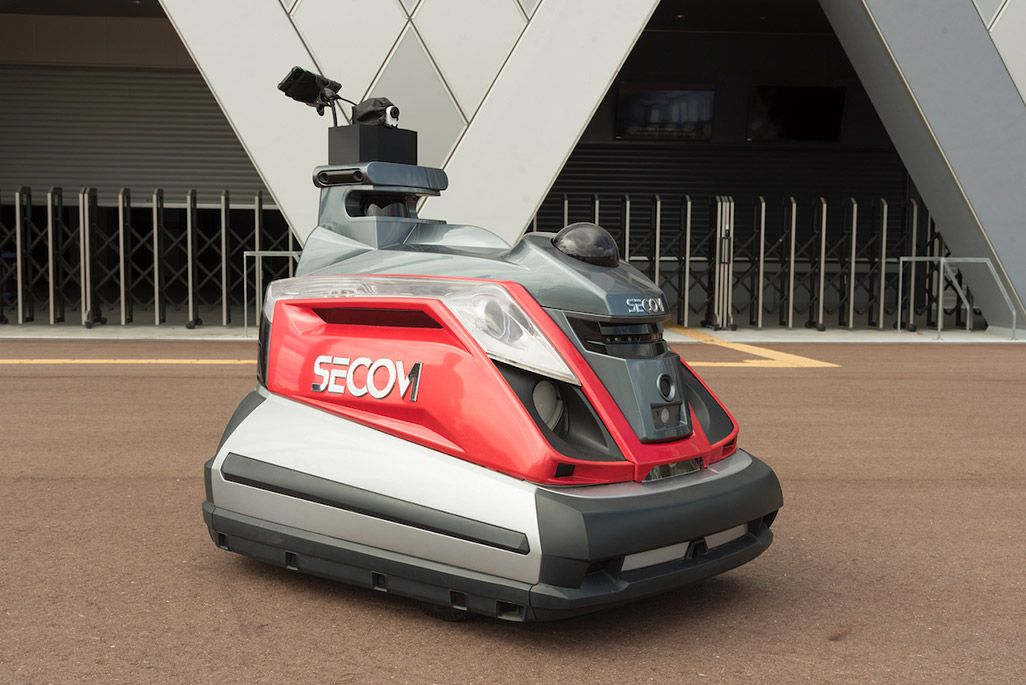 SECOMの警備ロボット