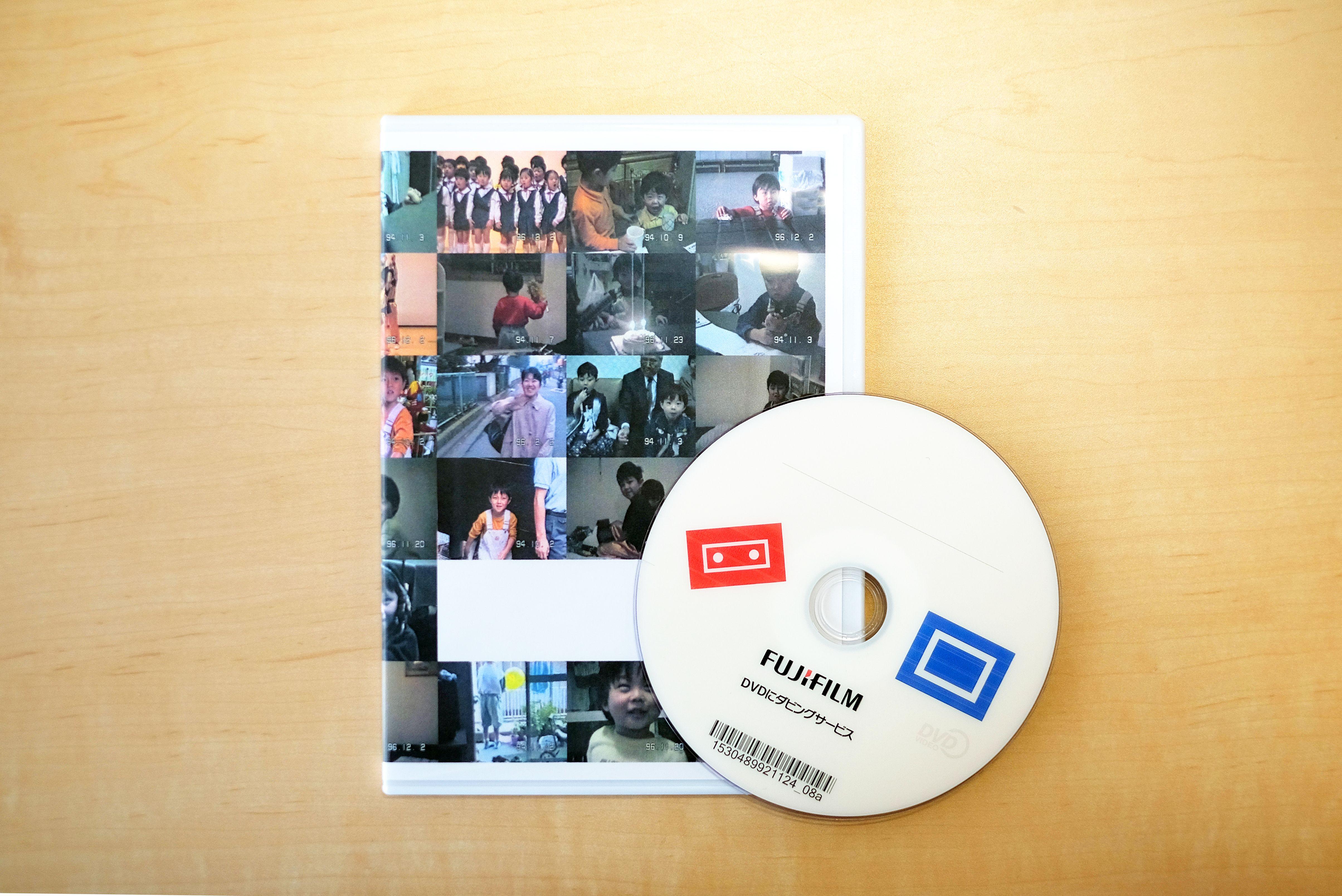 DVDと写真インデックスセット