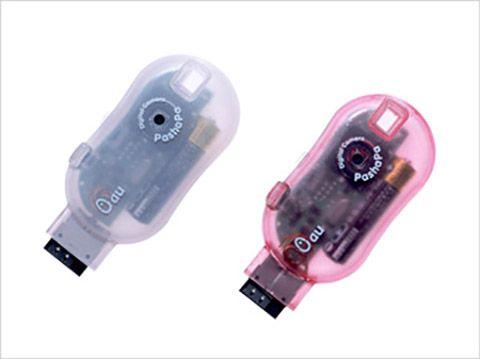 2000年に登場した携帯電話用の外付けカメラ「PashaPa」