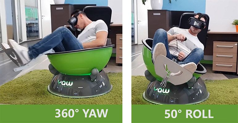 Yaw VRの動き