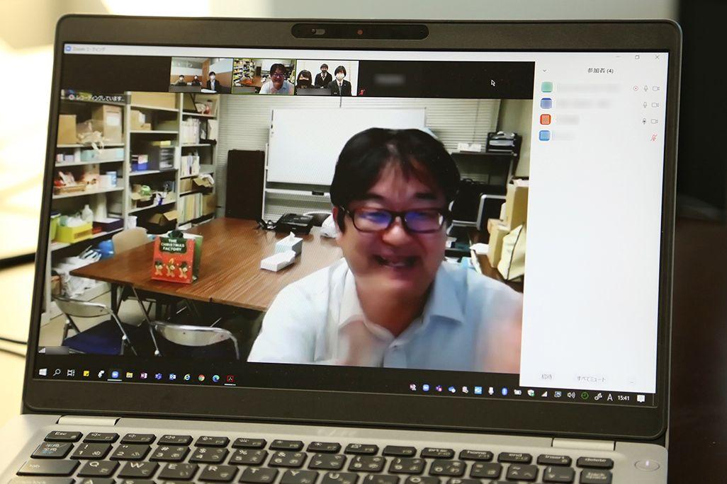 ソーシャルメディア研究会の竹内和雄先生