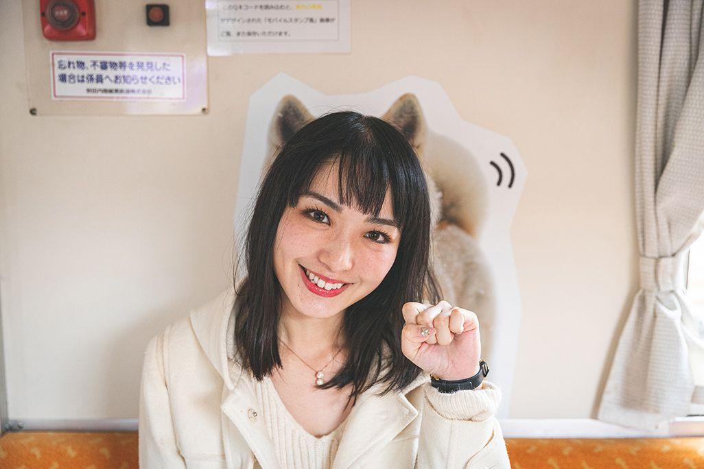 秋田犬っこ列車の撮影ポイント
