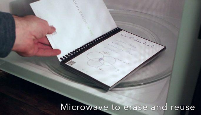 アメリカの学生に大人気! レンジでチンするノート「Rocketbook Wave」とは?