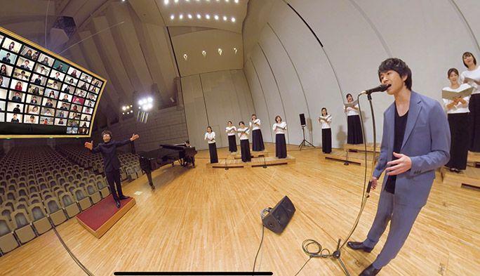 藤巻亮太さんと高校生が「3月9日」をリモート合唱 卒業の季節に「音のVR」でエール