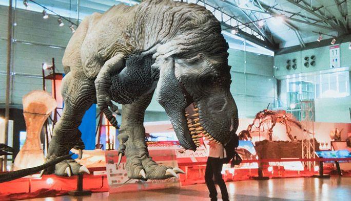 幕張メッセで開催! ARティラノサウルスが現れる『ギガ恐竜展2017』にテラびっくり