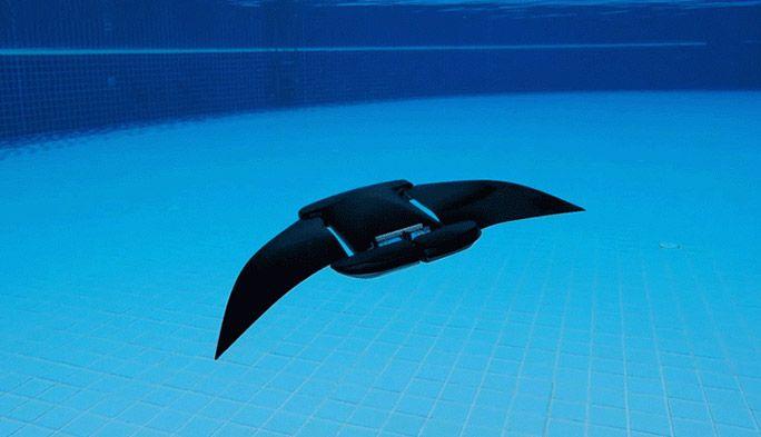 水中ドローンに最適な動きはマンタの泳ぎだった! 水中マッピングや探査に革命の予感