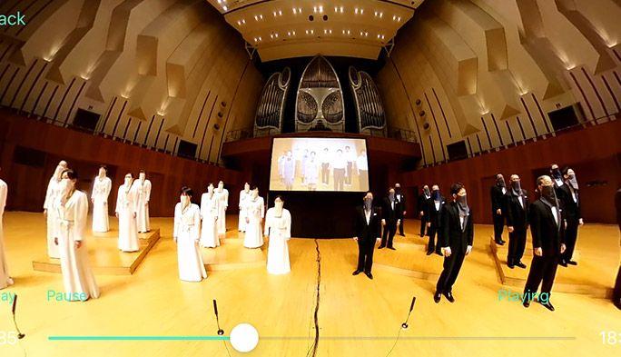音楽コンクール中止の合唱部にエール! Nコン課題曲リモート合唱を『音のVR』ライブ配信した舞台裏