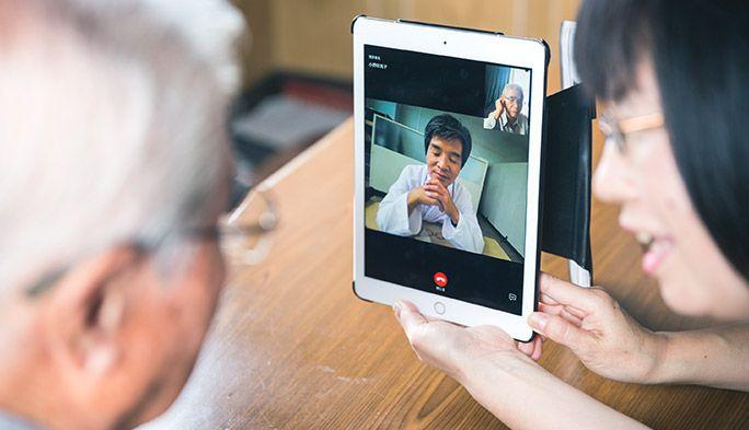 2人に1人が高齢者。南相馬市で始まった「オンライン診療」の現場とは?