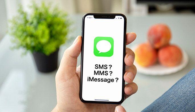 SMSとMMS、iMessageはなにが違う? 各サービスの特徴や文字数、料金を解説