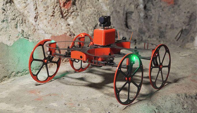 地下空間を自由自在にマッピング! 地底探索ドローン『TILT Ranger』が地球の謎を解明