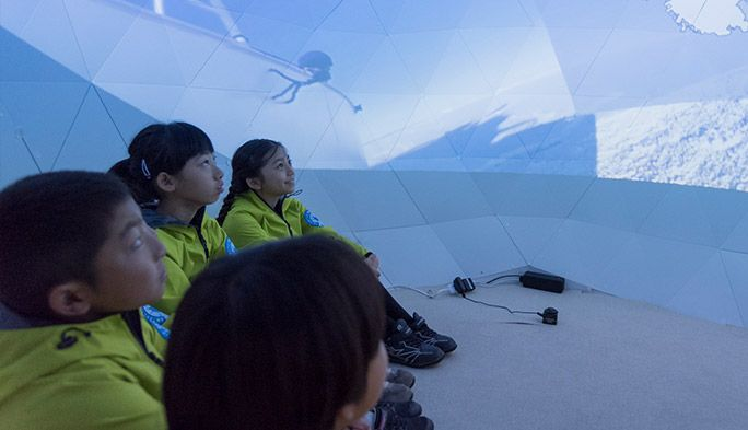 キッザニアに『南極研究所』 最新技術で実現する新しい職業体験
