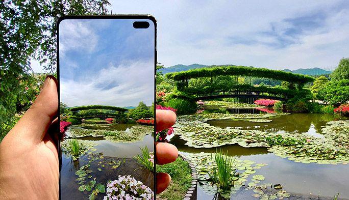au最新スマホ『Galaxy S10+』のトリプルカメラを検証! 望遠&超広角レンズの実力とは