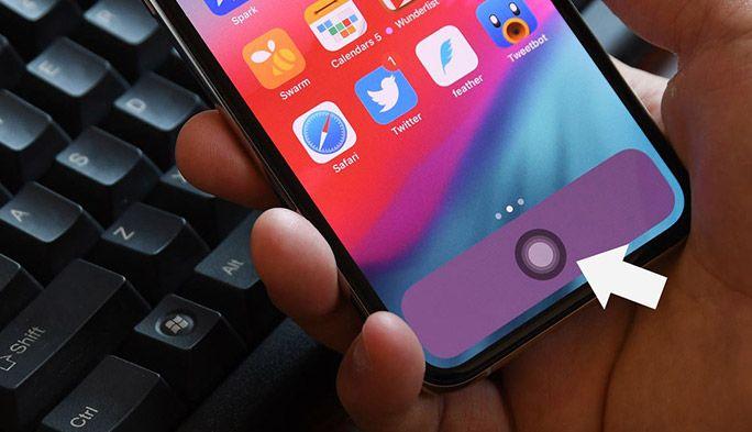 iPhone Xの画面に「仮想ホームボタン」を設定する方法 『Assistive Touch』の使い方