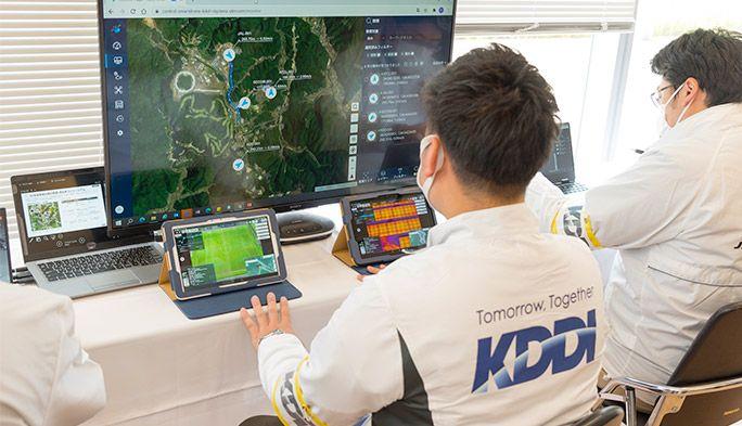 全国のドローン運航情報を統合管理 auの通信網を活用した『ドローン管制システム』とは