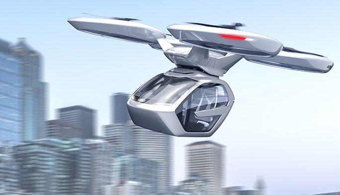 ドローンと自動車が合体! 陸も空もOKな「未来の技術」をエアバス・アウディが開発