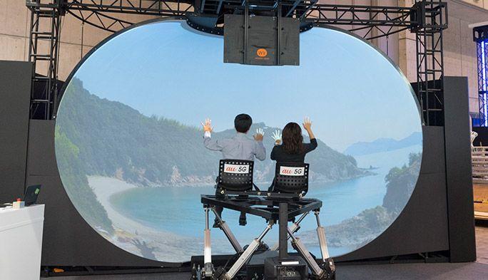 ゴーグル・ヘッドセットなしでVRが見られる! 5G通信が可能にした新しい映像体験