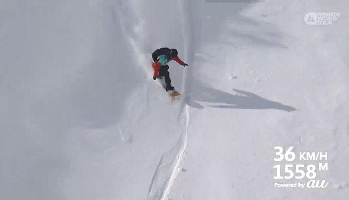 急斜面を滑走する選手をドローンが自動追尾! 白馬で実現した新たなスポーツ観戦体験