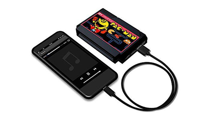 レトロゲームカセット型 モバイルバッテリー