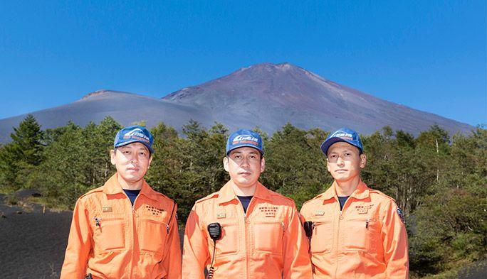 富士山で遭難した登山者をドローンで捜索  消防署の導入訓練に密着