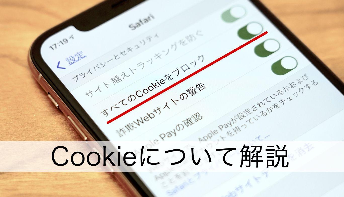 初心者でもわかる「cookie(クッキー)」講座。危険性やスマホでの設定方法もズバリ解説