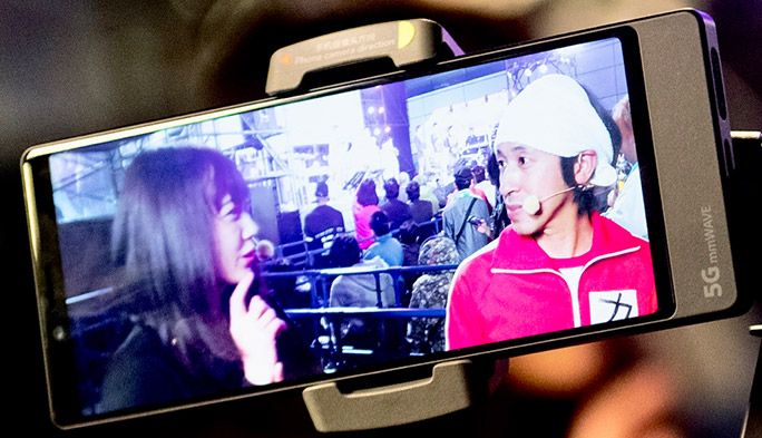 YouTuberカジサックが実践! 東京モーターショーのドローンレース生中継 5Gと映像の未来