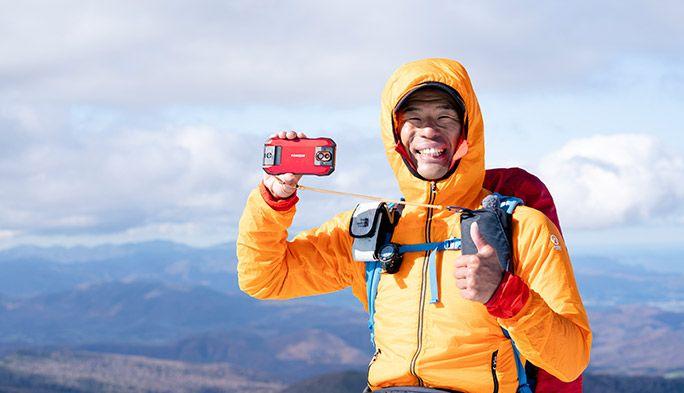 日本の山々を旅する田中陽希さんおすすめの「山+旅」で便利なアプリ&ガジェット