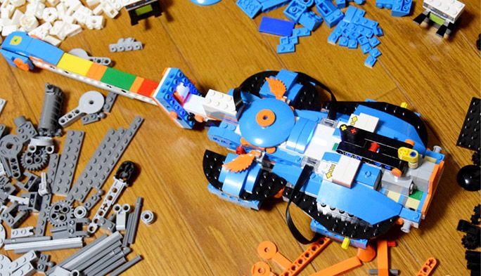 レゴが楽器やロボットになって動く! 大人も夢中になる『レゴ®ブースト』を体験