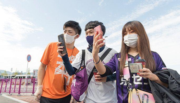 スタジアムが便利で楽しく!5GやARを活用した京都サンガF.C.の新しい挑戦