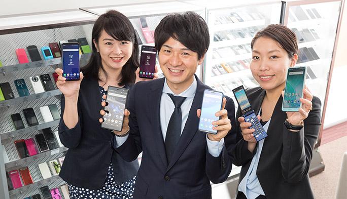 au2018夏モデル登場! Xperia ・AQUOS・Galaxy…新機種の注目ポイントは?